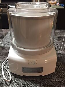 Cuisinart Frozen Yogurt/Ice Cream & Sorbet Maker