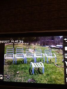 A few sets of Outdoor Chairs!