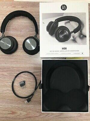 Bang & Olufsen BeoPlay H9i Wireless Over Ear Headphones | BLACK