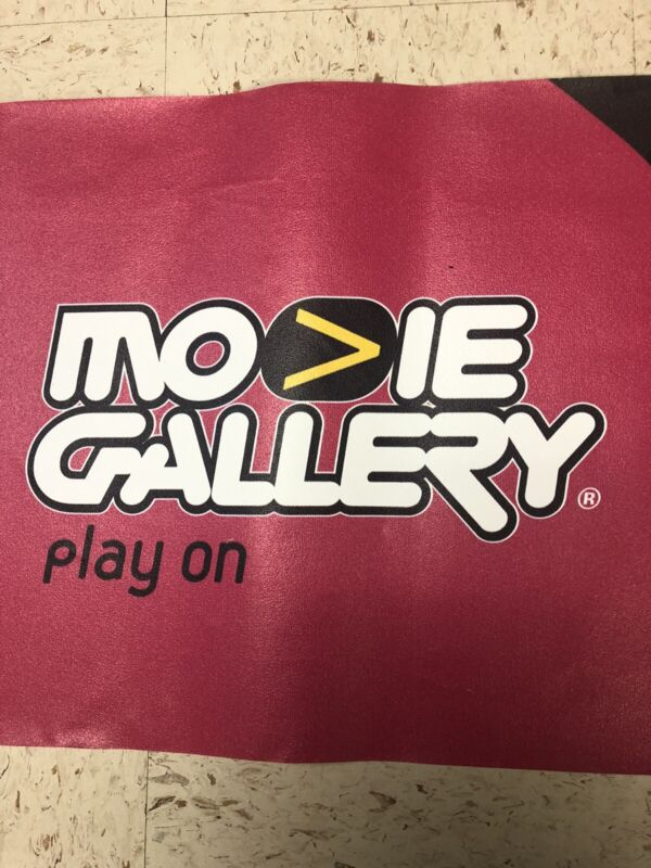 Movie Gallery Store Used Wall Border Banners (RARE)