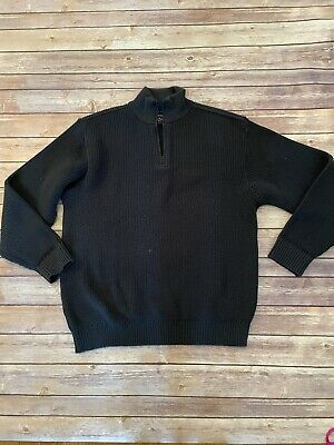 Paul Shark Yachting Pullover Long Sleeve Color: Navy Blue Sweater Size Small