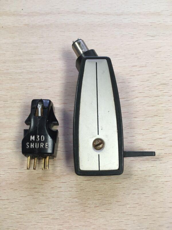 Shure M3D Garrard AT6 Headshell Vintage Audio