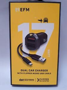 Micro USB Dual Flip Car Charger Sunshine Brimbank Area Preview