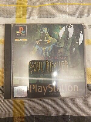 Legacy of kain soul reaver Holographic Cover Ps1 Game