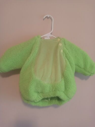 Infant Frog Costume Size 0-6 Months