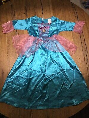 Barbie Kostüm blau/pink Gr. 128 karneval gebraucht kaufen  Emsbüren