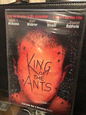 King Of The Ants  Dvd  Stuart Gordon  Director Of Re Animator  Brand New