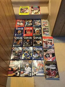 Huge lot of NHL yearbooks - All for $40
