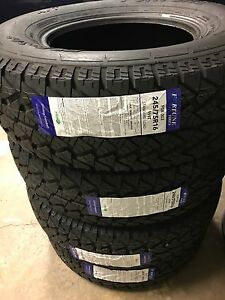 NEW FOUR 245/75R16 for $480 Tax In