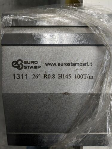 EUROSTAMP Press brake 26 deg. 145mm X 835mm punch - 1311-835