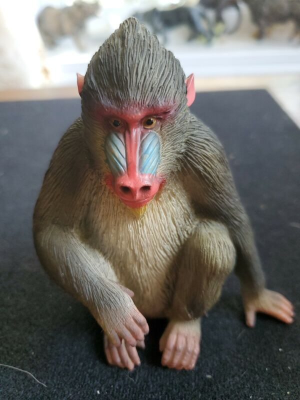 Mandrill Monkey Figure