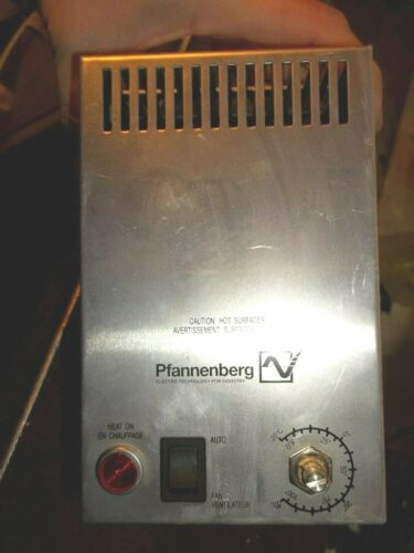 PFANNENBERG 17080015407 ENCLOSURE ICP FAN HEATER W/ THERMOSTAT (DD3)