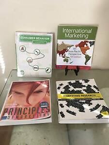 Uni., Marketing Text Bks: Int'l Mktg,Principles of Mktg, Consumer Waterford South Perth Area Preview