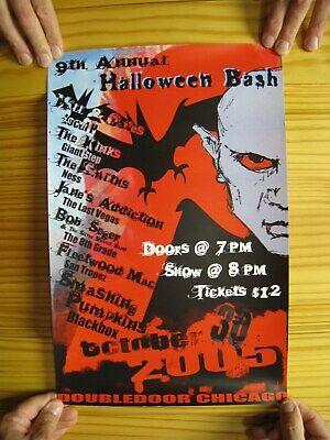 Halloween Bash Chicago 2005 Hall and Oates Bob Seger Smashing Pumpkins Smiths  (Halloween Hall And Oates)