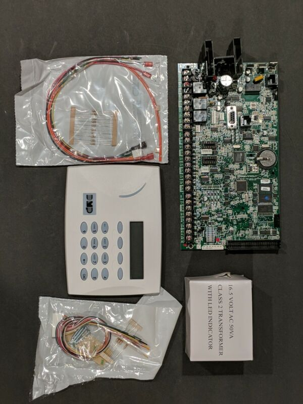 DMP XR500N ALARM ACCESS CONTROL Pad , 7070 LCD Keyboard ,16V Transformer
