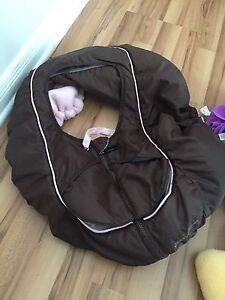 Spring girl car seat cover 10$