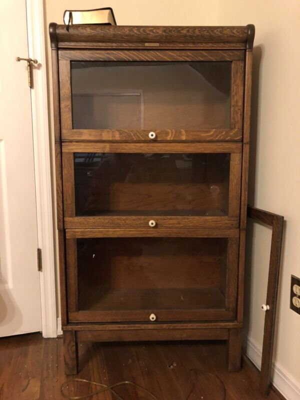 Antique Lundstrom Bookcase