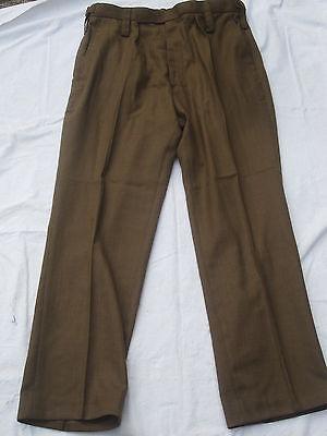 Trousers Mans Barrack Dress,Army All Ranks,braune Diensthose, Gr. 76/88/104