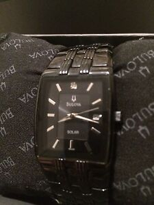 Bulova mens watch. Solar powered Edmonton Edmonton Area image 2