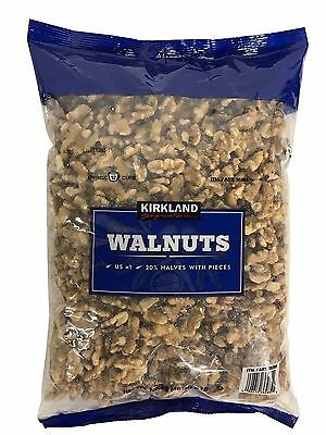 Kirkland Signature Walnuts 48oz 3lb Pack US #1 Quality