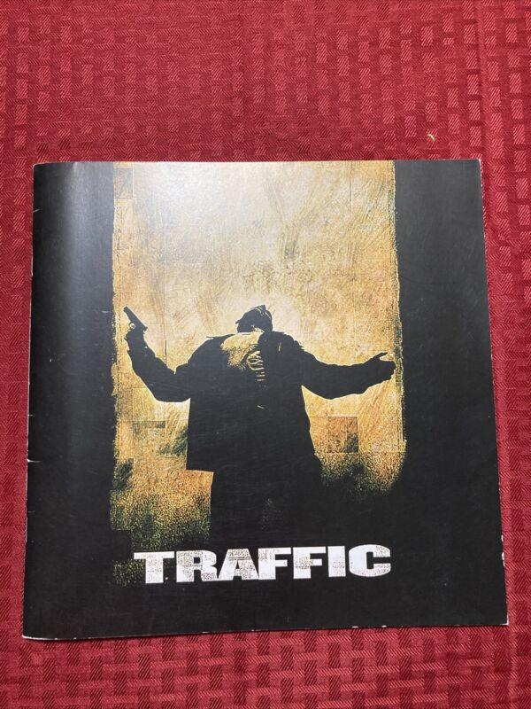 Traffic Pressbook 2000 Douglas Cheadle Del Toro Quaid Zeta-Jones