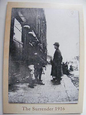 SUPERB Postcard PADRAIG PEARSE EASTER RISING 1916 Surrender Irish Republican SF