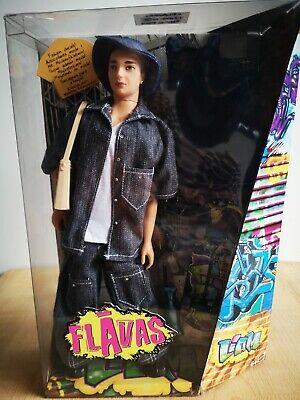 Muñeco Flavas Liam de Mattel Serie n°2 (2003) ¡Totalmente nuevo!