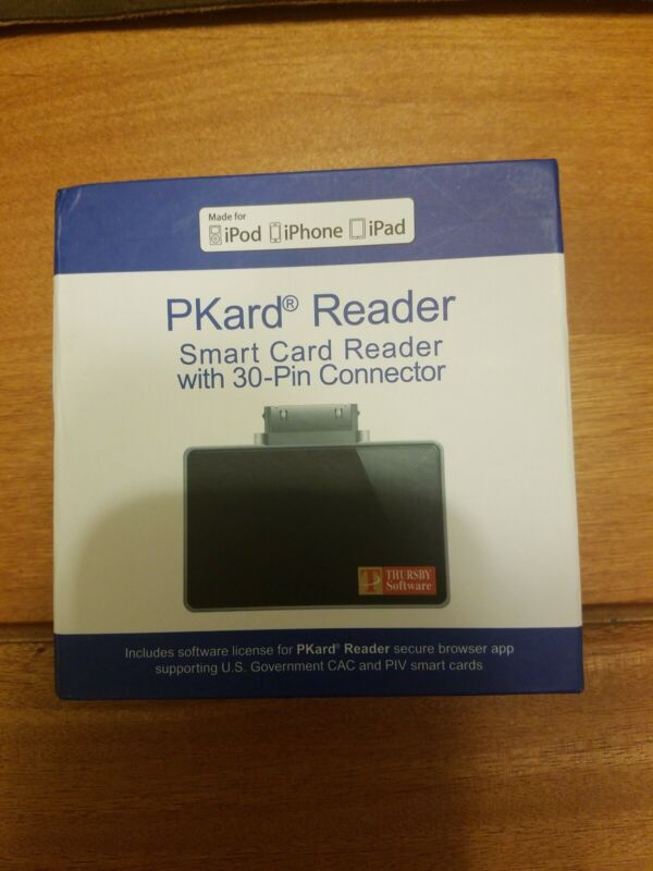 Thursby PKard Reader with 30-Pin Apple Connector
