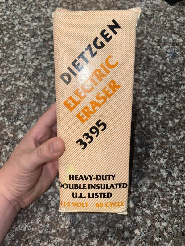 DIETZGEN ELECTRIC ERASER 3395 Drafting Drawing Architect-TESTED