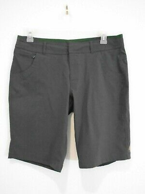 Lucy Walkabout Shorts Gray Bermuda Walking Active Wear Womens Size L -