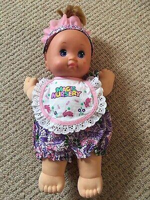 Vintage Mattel Magic Nursery 90s Doll 1989.