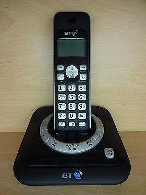 BT 3530 SINGLE CORDLESS HOUSE PHONE TELEPHONE WITH ANSWER MACHINE UBX
