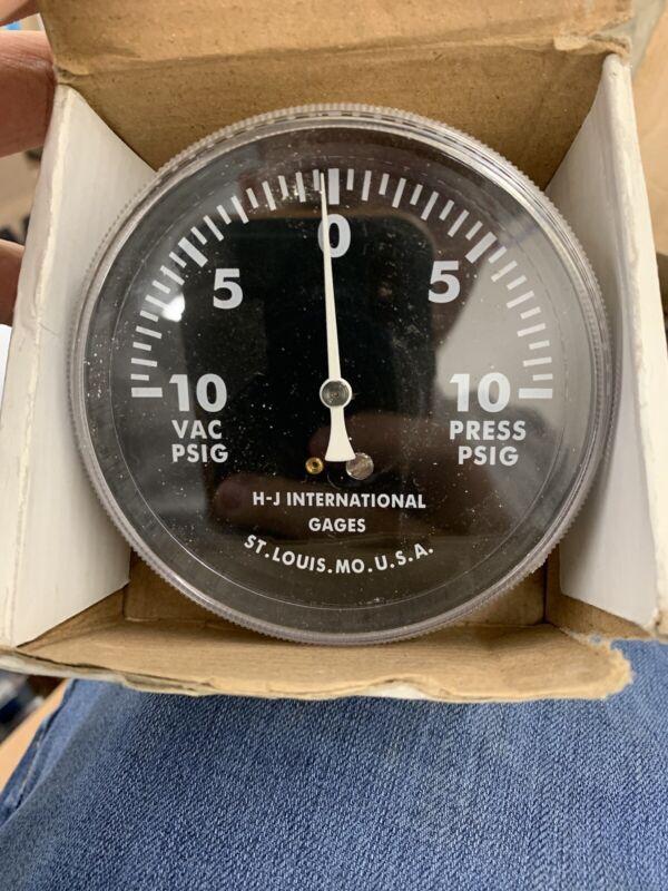 Pressure Vacuum Gauge