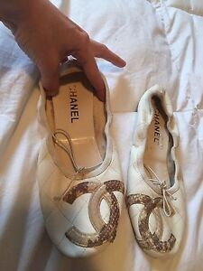Authentic Chanel Balet Flats Size 38