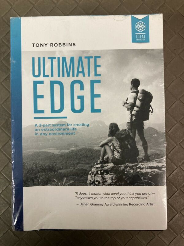 Ultimate Edge —Tony Robbins OOP NEW SEALED