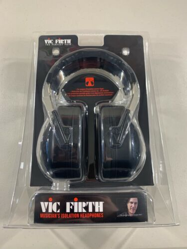 Vic Firth DB22 Isolation Headphones for Hearing Protection NEW Sealed Z6