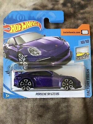 Hot Wheels Porsche 911 GT3 RS Factory Fresh 10/10