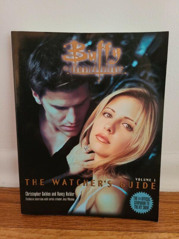Buffy The Vampire Slayer, The Watchers Guidebook Volume 1. 1998