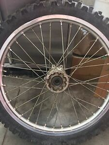 Roue avant complete crf/cr
