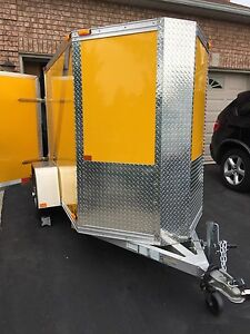 Cargo Enclosed Trailer 4 x 8 (like new)