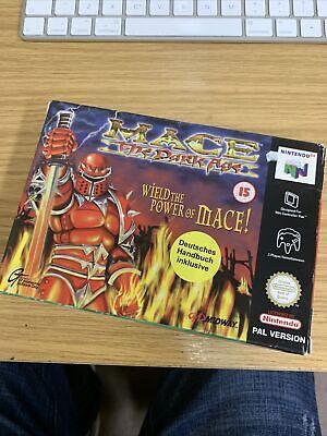 Mace The Dark Age Pal Nintendo N64 - German Manual