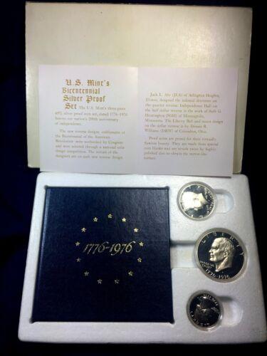 1976-S United States Proof 40% Silver Bicentennial Set in Original Mint Box