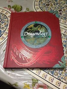 Dragonology with hard cover  ,