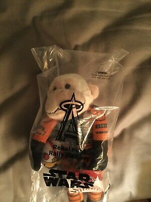 Los Angeles Angels Star Wars Day Limited Edition Rebel Pilot Rally Monkey