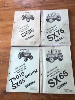 Iseki tractor SX  parts manuals Ashbourne Alexandrina Area Preview