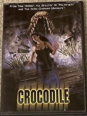 CROCODILE (DVD, 2000) TOBE HOOPER, RARE, NO SCRATCHES, FAST SHIPPING!