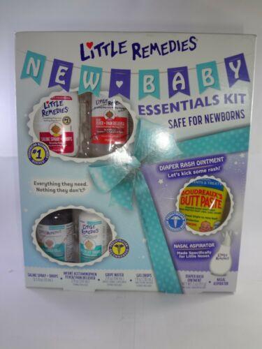 Little Remedies New Baby Essentials Gift Kit Safe for NewBorns