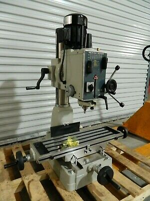 Rong Fu Geared Head Milling Drilling Machine 20 Swing 220v 3ph Rf-403
