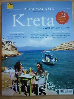 ADAC-Reisemagazin September / Oktober  2018  Kreta - Ein platz an der Sonne
