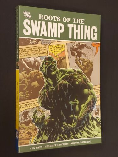 ROOTS OF THE SWAMP THING TPB FIRST PRINTING LEN WEIN BERNIE WRIGHTSON